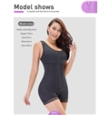 Full Body Shapewear Bodysuit Enhance Butt Slimming Stomach Plus Size