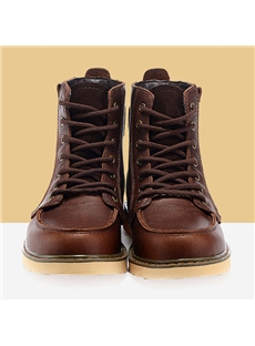 Men's Boots with Lace-Up Front General Cowhide